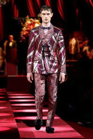Dolce & Gabbana Menswear Fall Winter 2019 Milan92
