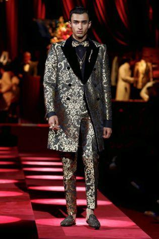 Dolce & Gabbana Menswear Fall Winter 2019 Milan96