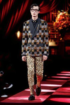 Dolce & Gabbana Menswear Fall Winter 2019 Milan98