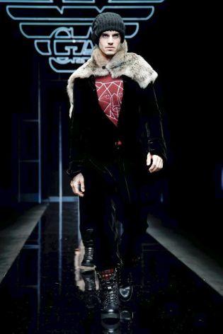 Emporio Armani Menswear Fall Winter 2019 Milan100