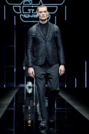 Emporio Armani Menswear Fall Winter 2019 Milan16