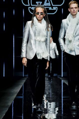 Emporio Armani Menswear Fall Winter 2019 Milan74