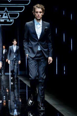 Emporio Armani Menswear Fall Winter 2019 Milan84