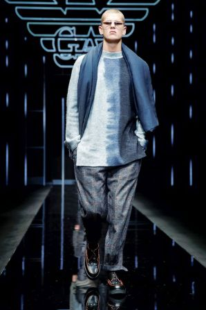 Emporio Armani Menswear Fall Winter 2019 Milan92