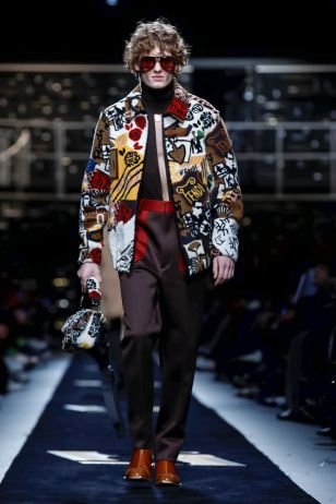 Fendi Menswear Fall Winter 2019 Milan20