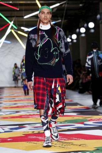 Iceberg Womenswear Menswear Fall Winter 2019 London43