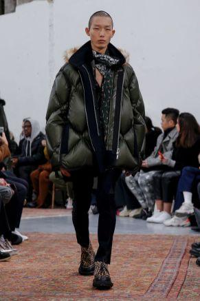 Sacai Menswear Fall Winter 2019 Paris16