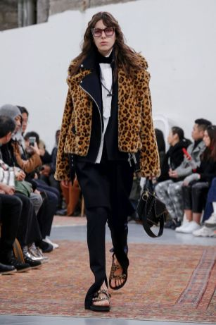 Sacai Menswear Fall Winter 2019 Paris24