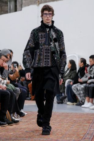 Sacai Menswear Fall Winter 2019 Paris37