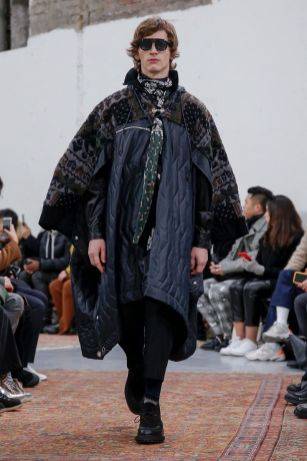 Sacai Menswear Fall Winter 2019 Paris38