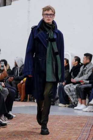 Sacai Menswear Fall Winter 2019 Paris41
