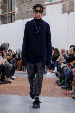 Sacai Menswear Fall Winter 2019 Paris51
