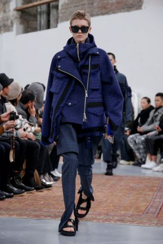 Sacai Menswear Fall Winter 2019 Paris52