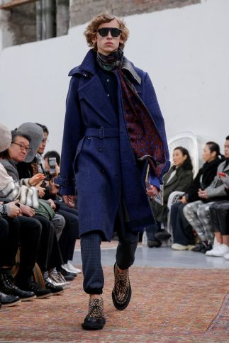 Sacai Menswear Fall Winter 2019 Paris55