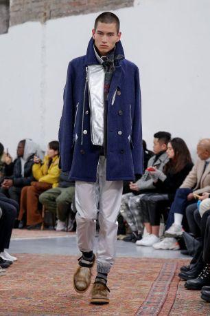 Sacai Menswear Fall Winter 2019 Paris56