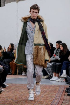 Sacai Menswear Fall Winter 2019 Paris6