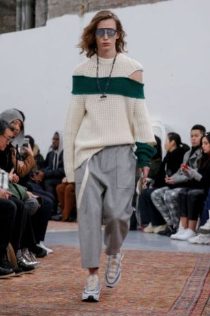 Sacai Menswear Fall Winter 2019 Paris7