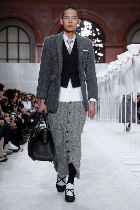 Thom Browne Menswear Fall Winter 2019 Paris7