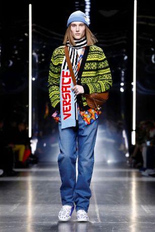 Versace Menswear Fall Winter 2019 Milan19
