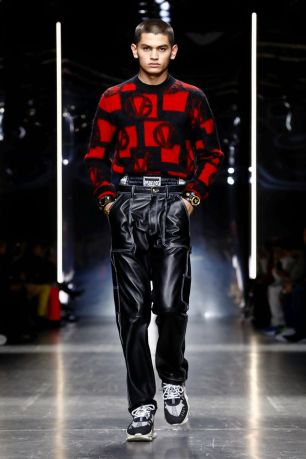 Versace Menswear Fall Winter 2019 Milan34