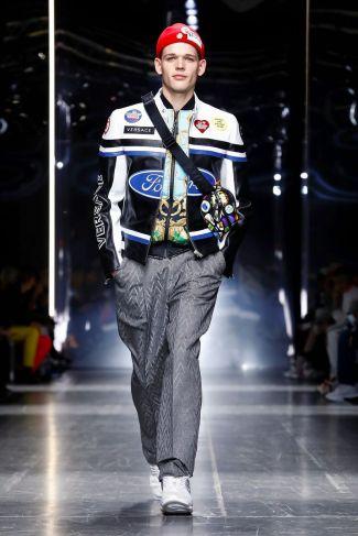 Versace Menswear Fall Winter 2019 Milan46