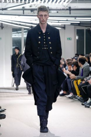 Yohji Yamamoto Menswear Fall Winter 2019 Paris26