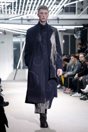 Yohji Yamamoto Menswear Fall Winter 2019 Paris3