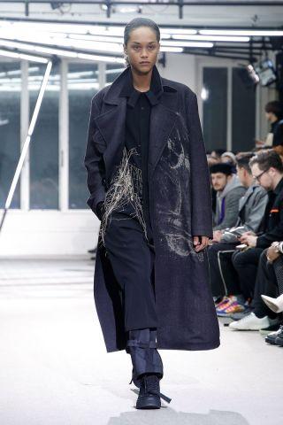 Yohji Yamamoto Menswear Fall Winter 2019 Paris30
