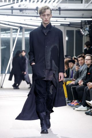 Yohji Yamamoto Menswear Fall Winter 2019 Paris32