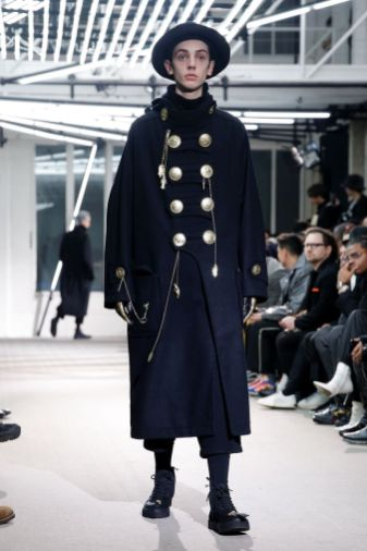 Yohji Yamamoto Menswear Fall Winter 2019 Paris37