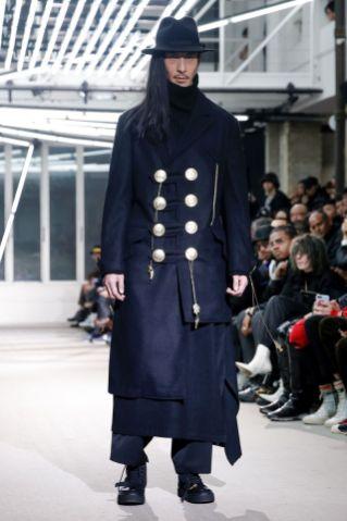 Yohji Yamamoto Menswear Fall Winter 2019 Paris38
