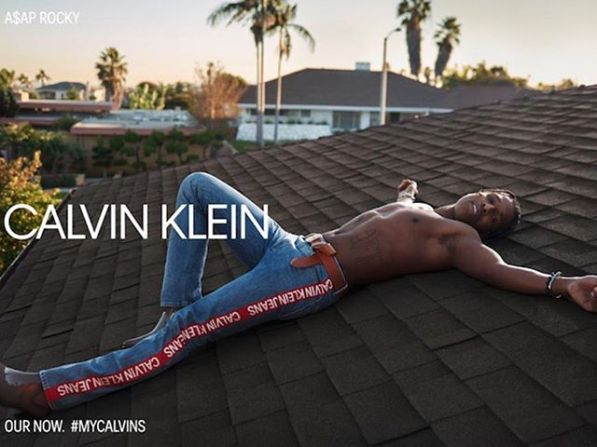 A$ap Rocky by Glen Luchford for Calvin Klein SS19 Campaign3