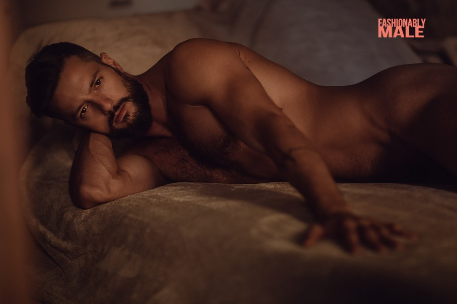 Naked Spanish male model