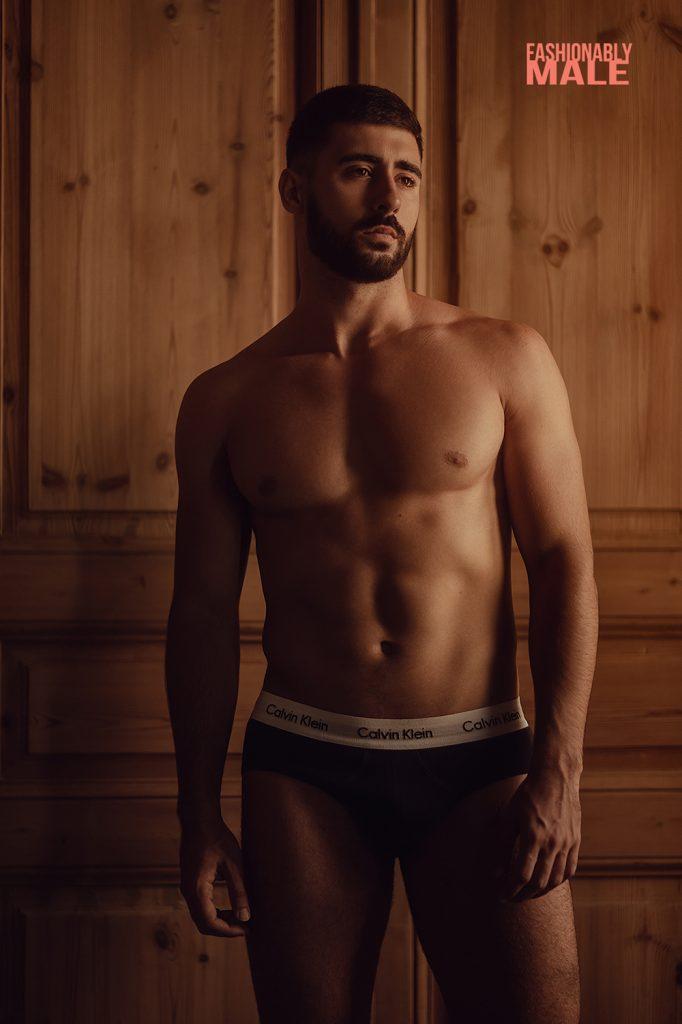 Spanish model in underwear