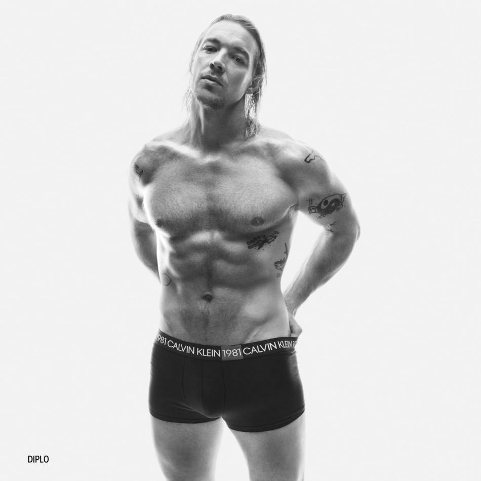 Diplo for Calvin Klein's New Campaign 1981 BOLD