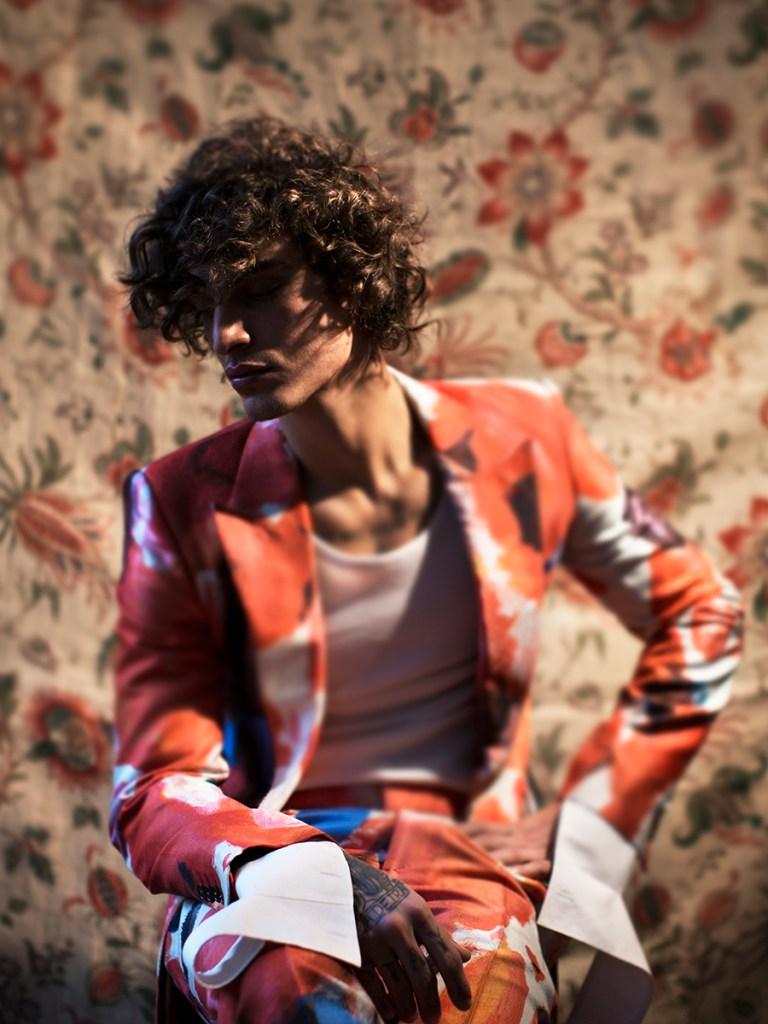 Jonathan Bellini by Karl Simone for GQ Brazil July 2019