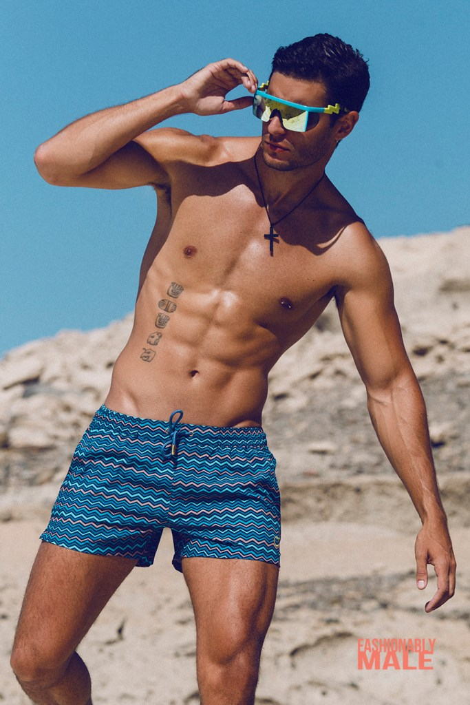 Carlos Gómez by Adrián C. Martín for Fashionably Male