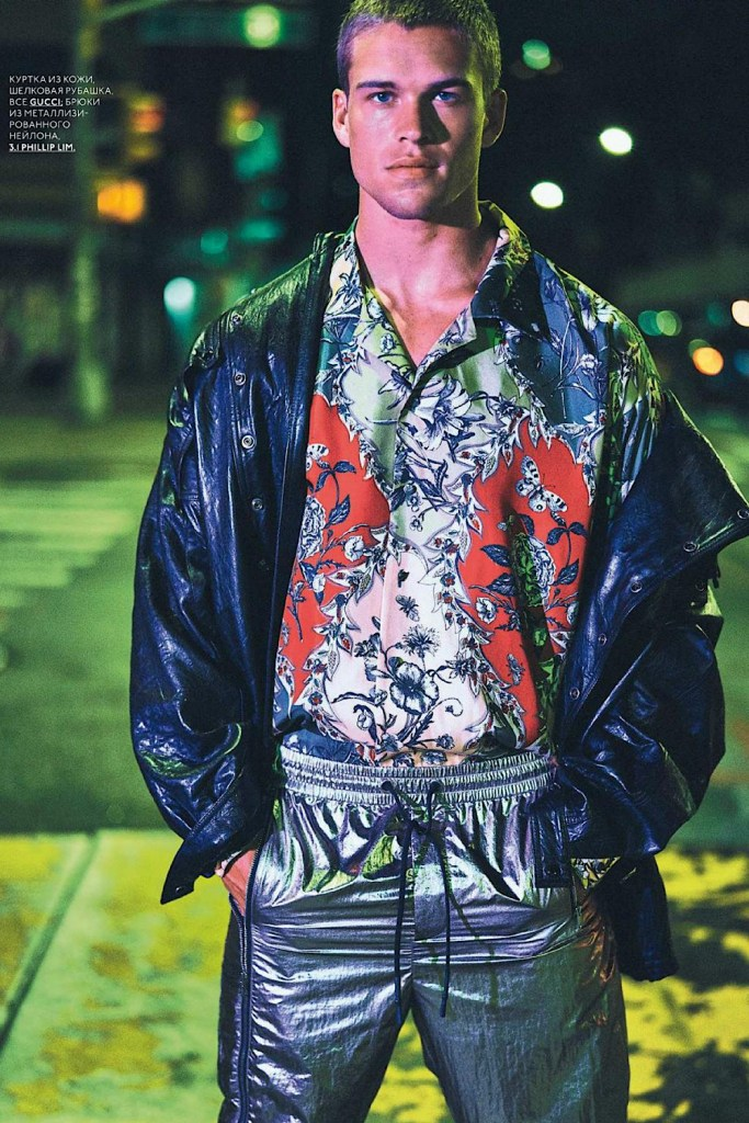 Mitchell Slaggert by Dean Isidro For GQ Style Russia AW19