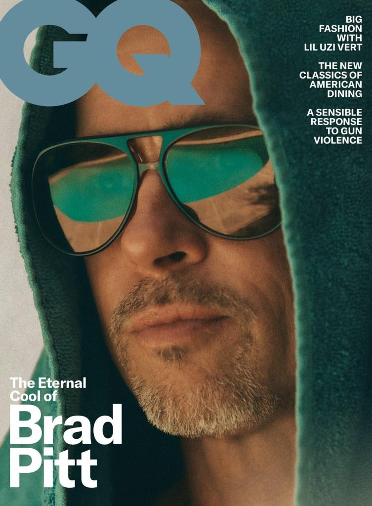 Brad Pitt For US GQ October 2019