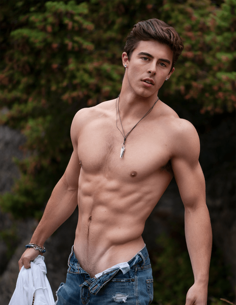 Jerrin Strenge for PnVFashionablymale Magazine Issue 03