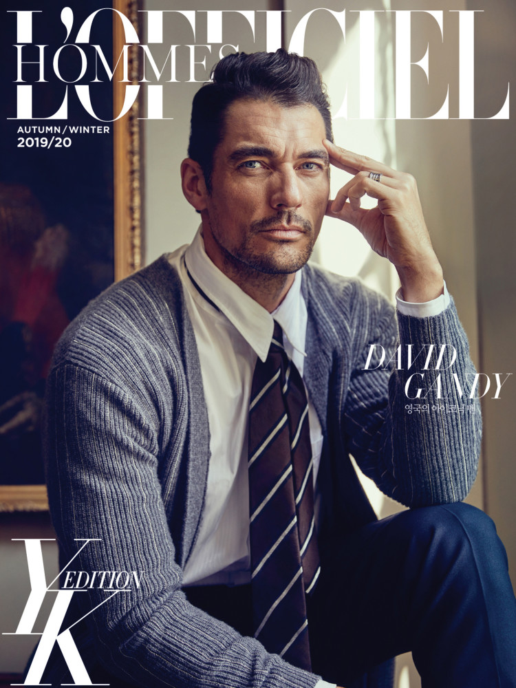 David Nancy for L'Officiel Hommes Korea by Jeon Seung