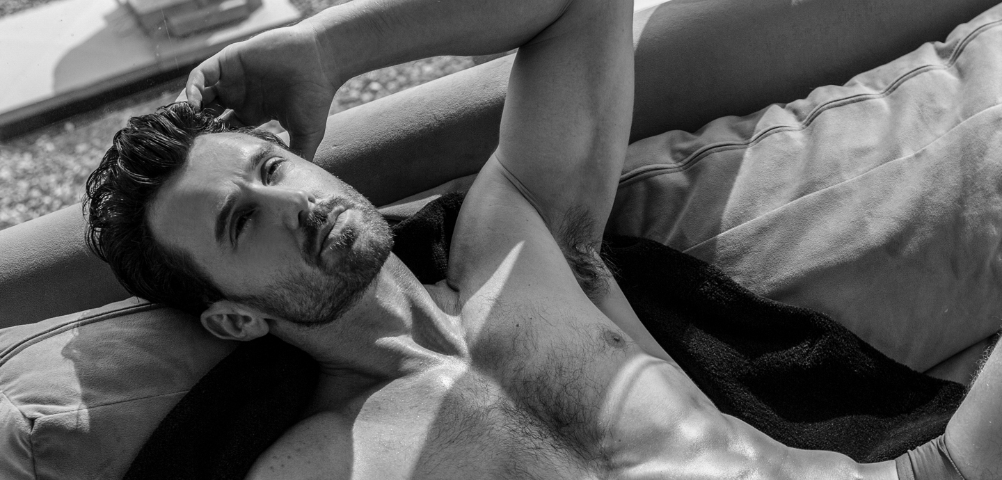 Paul Marlow by Jamie Mann for Fashionably Male cover