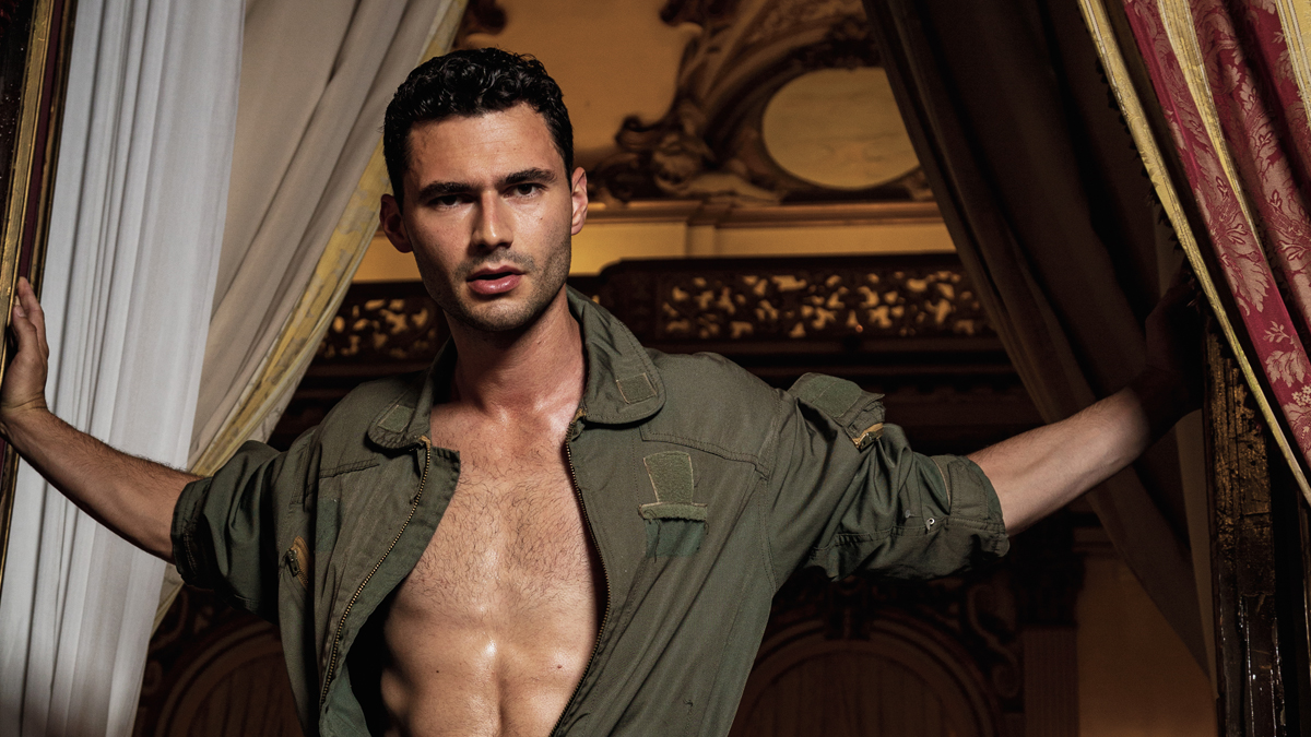 Sam Francesconi by Davide Musto for Fashionably Male cover