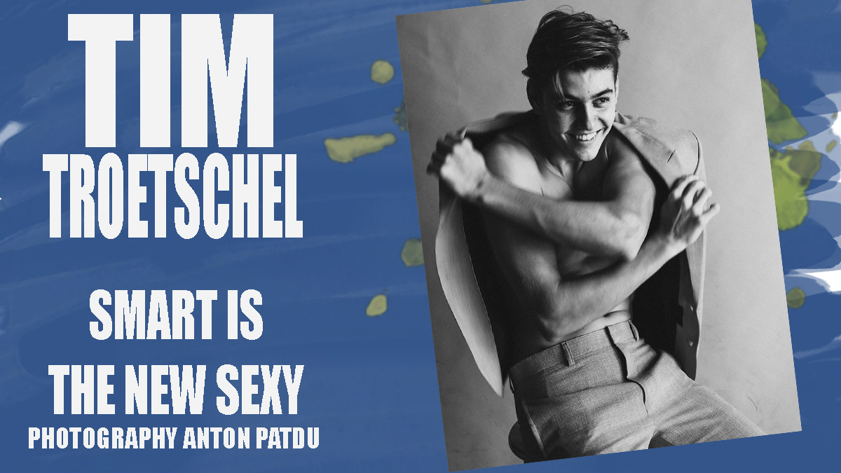 Tim Troetschel by Anton Patdu for PnVFashionablymale Magazine Issue 04 cover