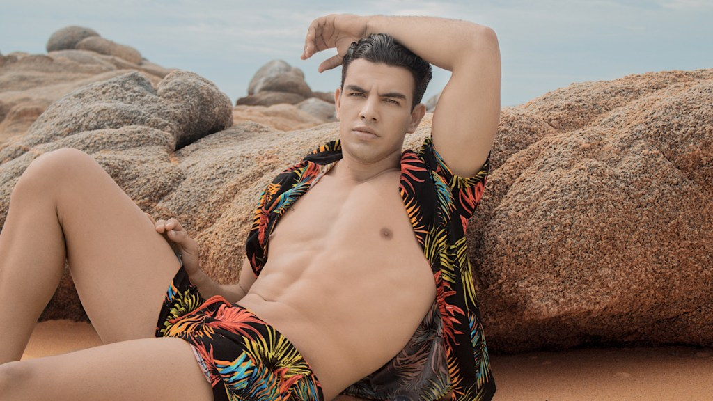Gabriel Ortiz by Chris Femat for Fashionably Male