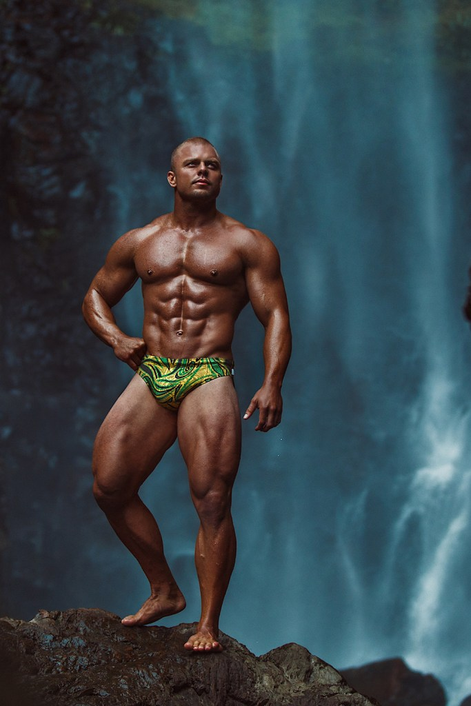 WAPO Wear Campaign with Vegan Muscle Model Mayapur Rapinett