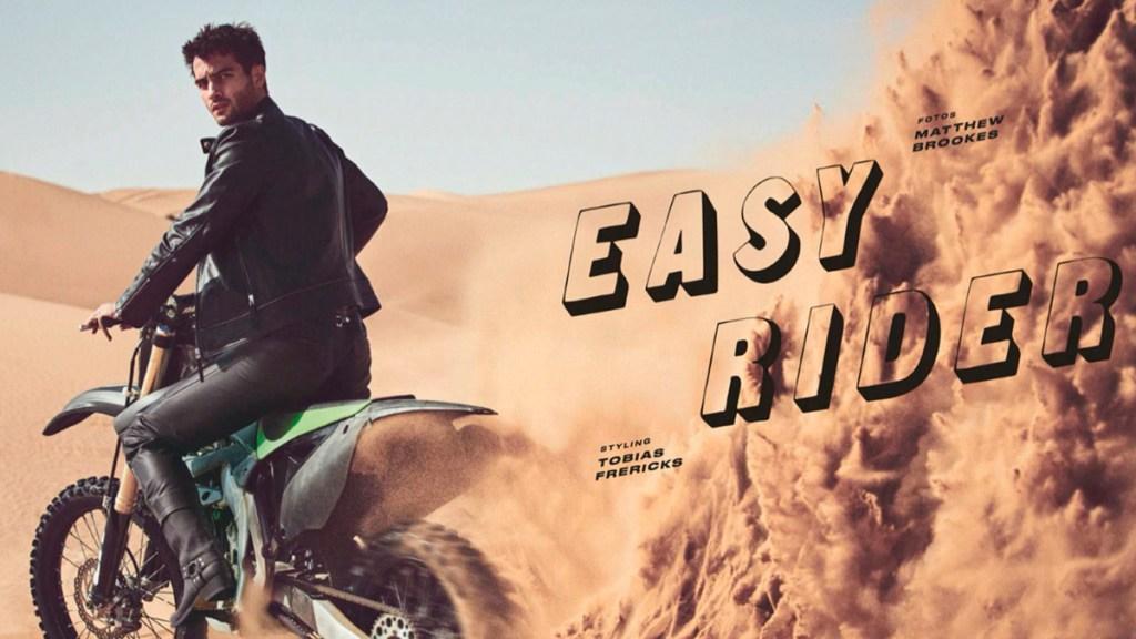 Model Aleksandar Rusic for GQ Germany May 2020 cover