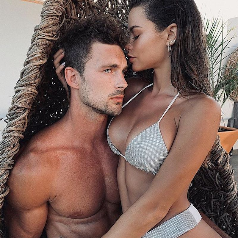 Christian Hogue & Maria Del Mar by Victor Ozuna