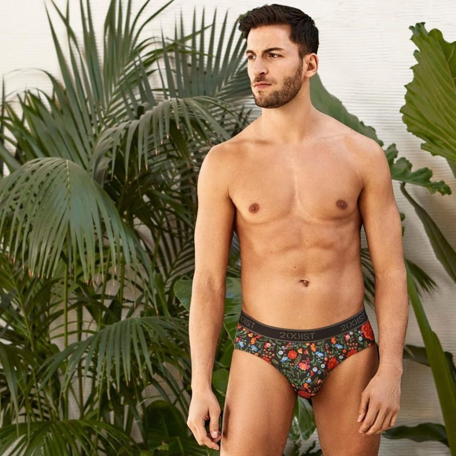 Twins Sampaio Fronts 2(X)its Underwear Campaign S:S 2020