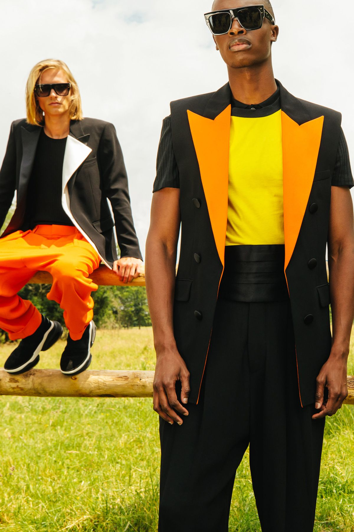 Balmain Menswear Resort 2021 The Zoom Collection